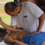 Massagem para tratar a dor